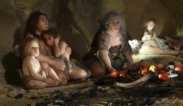 I Neandertaliani contagiati dalle nostre malattie
