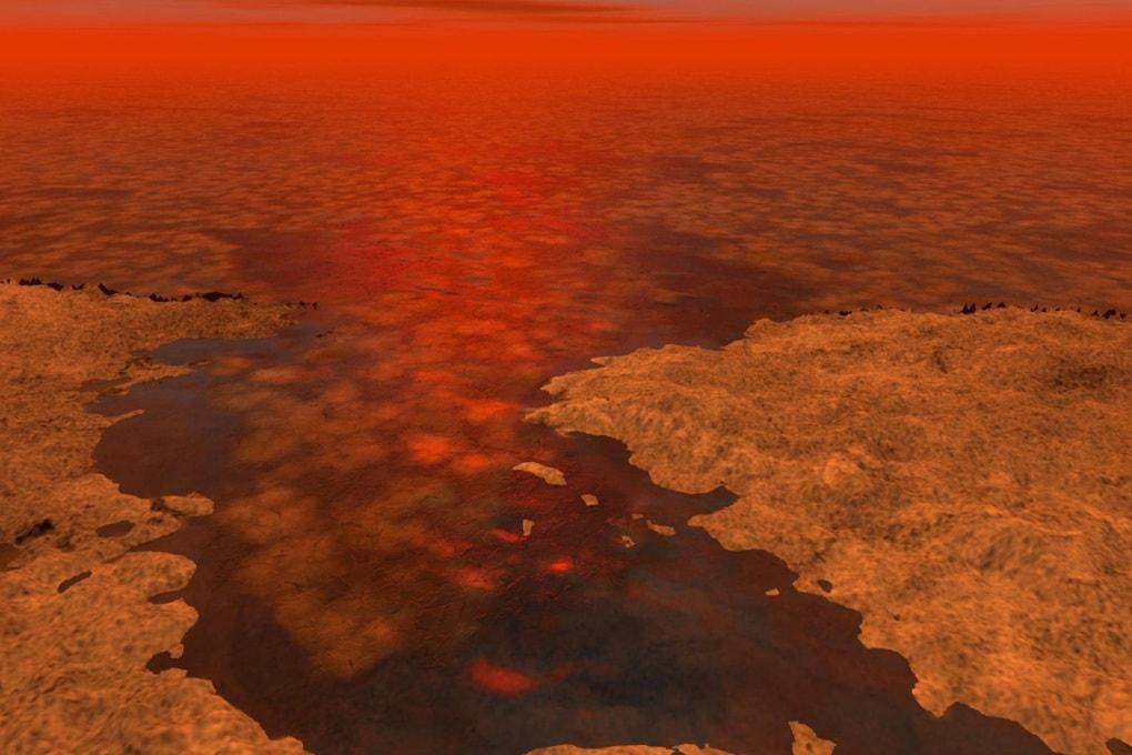 Come si formano i laghi su Titano?