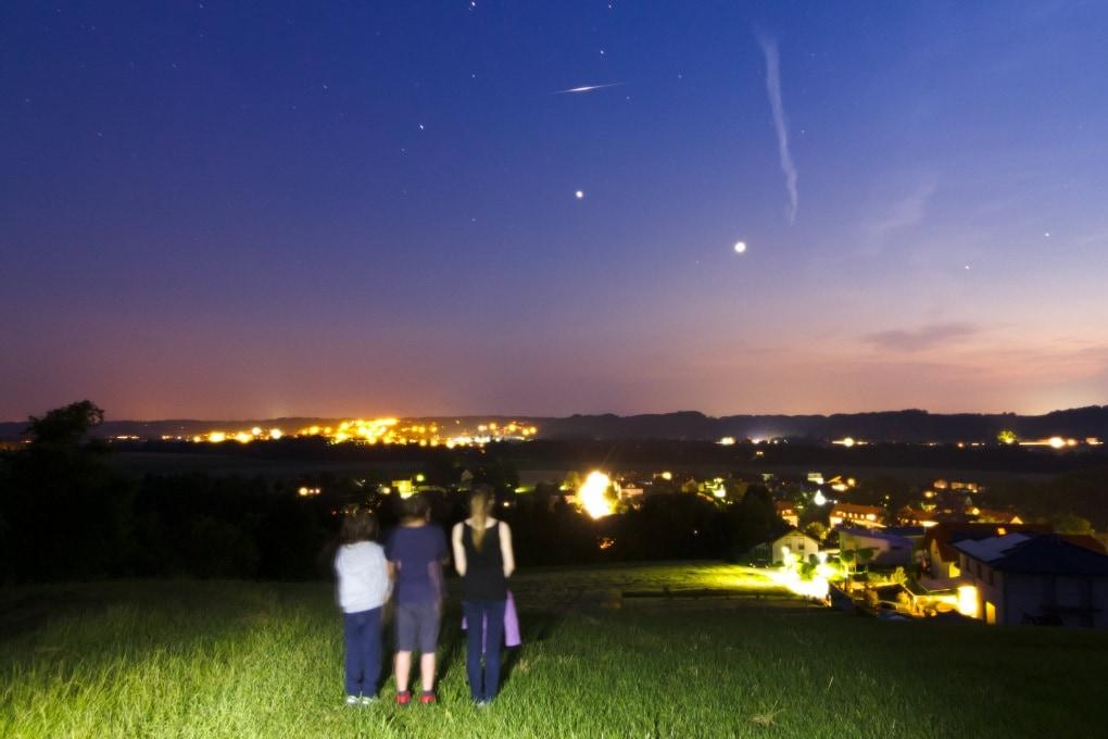 Venere e Giove in congiunzione il 30 giugno