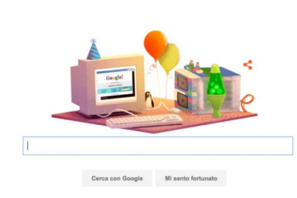Il compleanno di Google