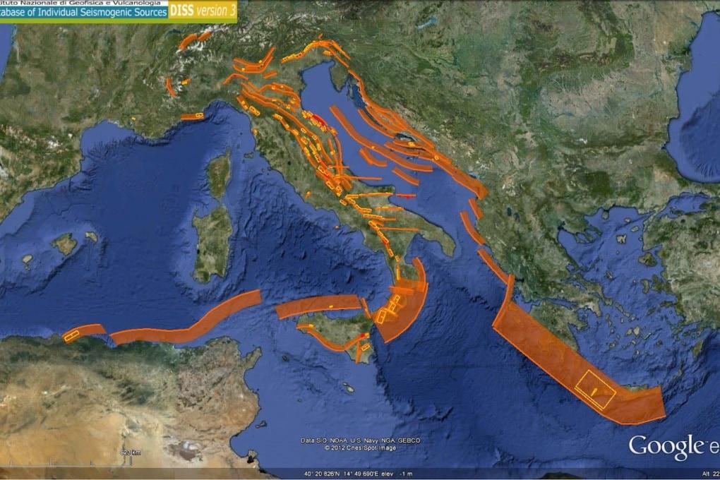 L'Italia del terremoto