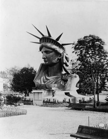 La costruzione della Statua della Libertà