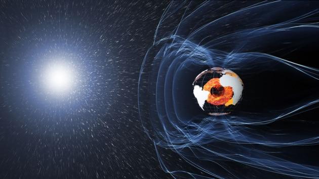 Come cambia il campo magnetico della Terra