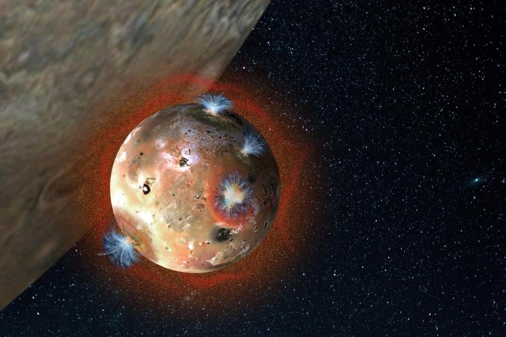 L'atmosfera di Io, satellite di Giove