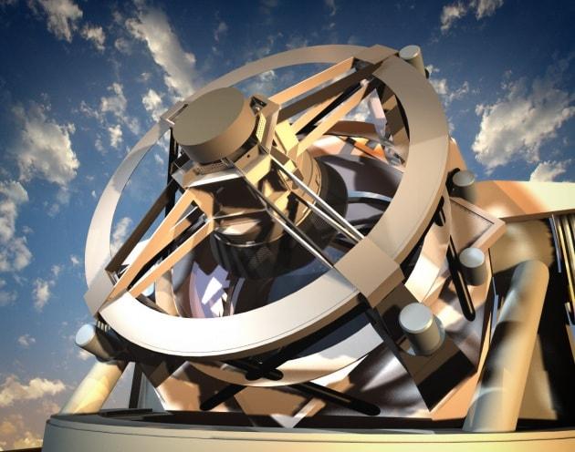 Posata la prima pietra dell'LSST, il telescopio dei record