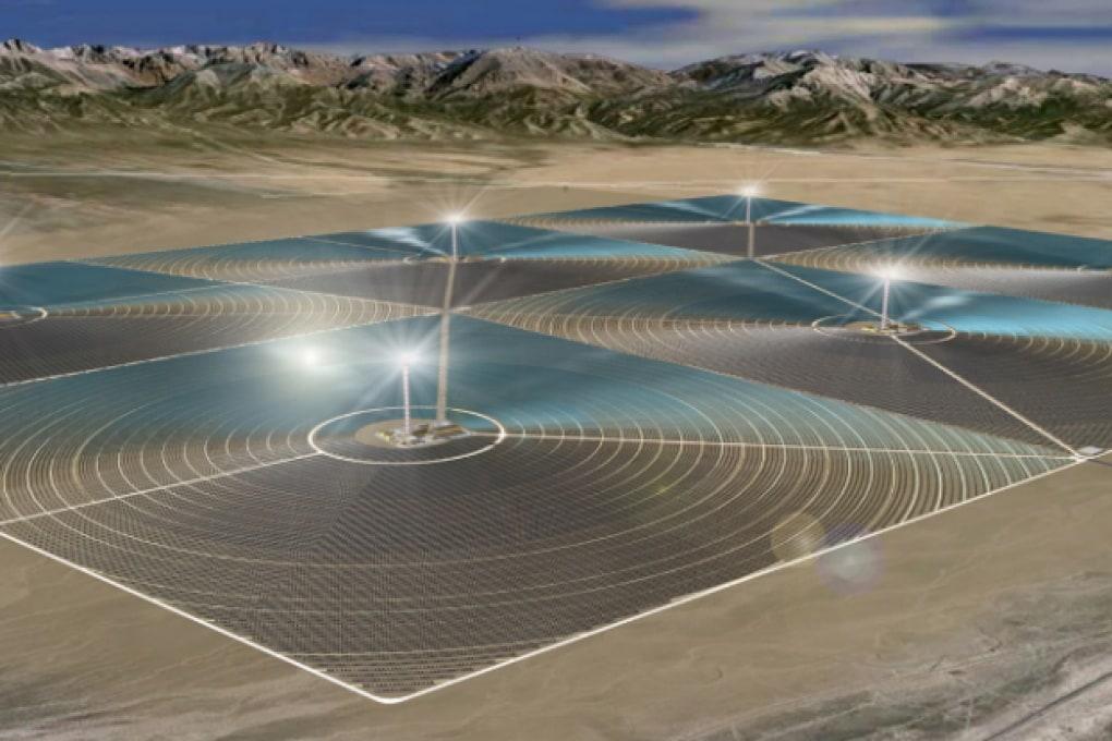 Il mega impianto fotovoltaico della Cina