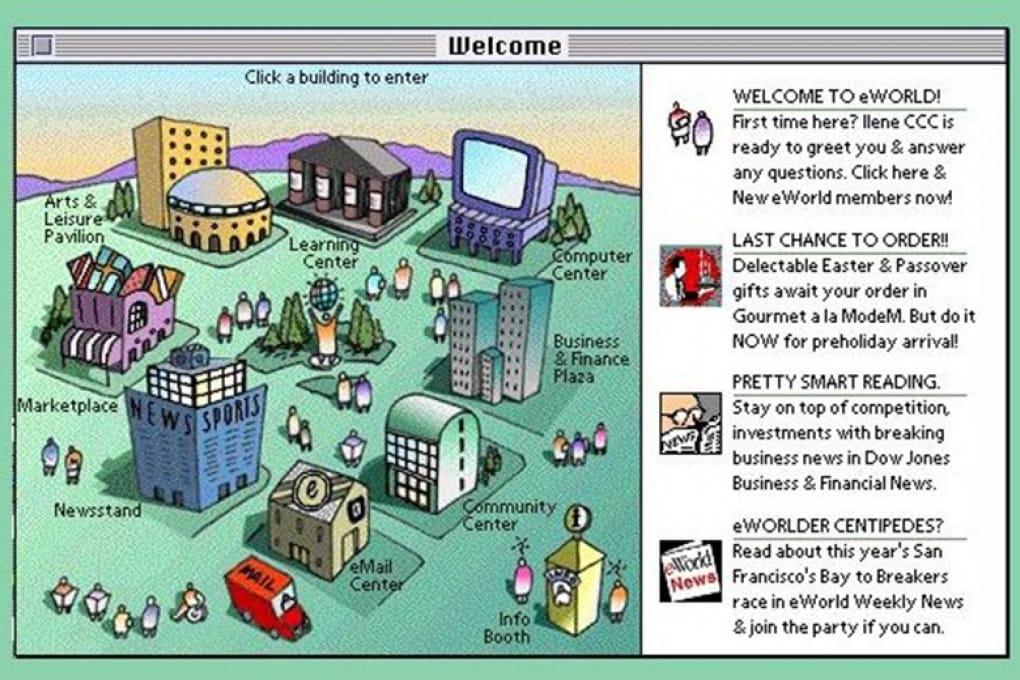 La città virtuale di Apple, che nacque e morì 20 anni fa