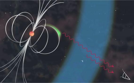 stelle di neutroni - La pulsar del Granchio