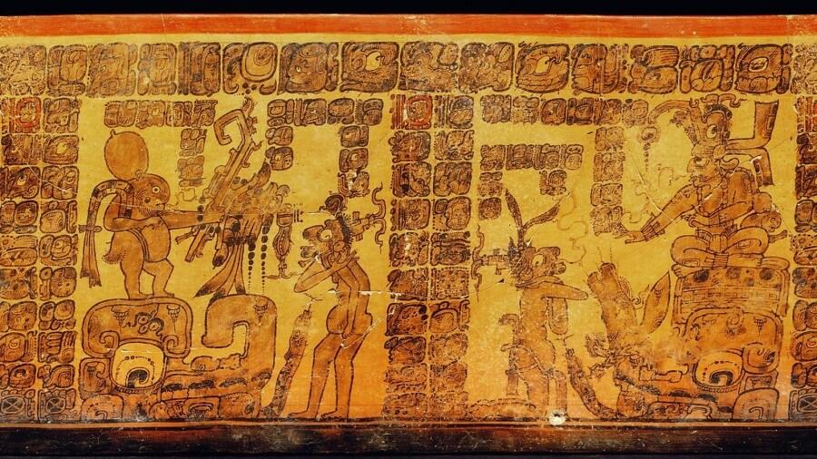 I Maya hanno inventato i fumetti?