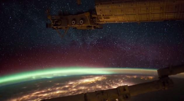Sinfonia dalla ISS: un time-lapse mozzafiato
