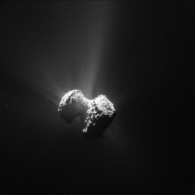 Rosetta, il vento solare e l'origine della vita