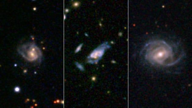 Le galassie-mostro e la piccola Via Lattea