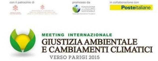 Giustizia ambientale e cambiamenti climatici verso Parigi 2015, meeting a Roma