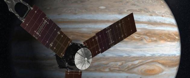 Quanto è grande la sonda spaziale Juno?