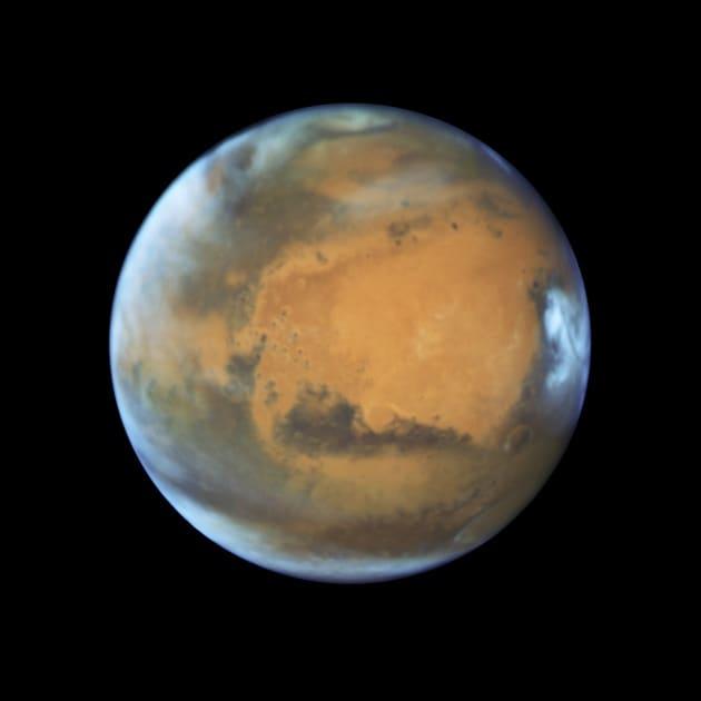 Marte e la Terra mai così vicini da 11 anni