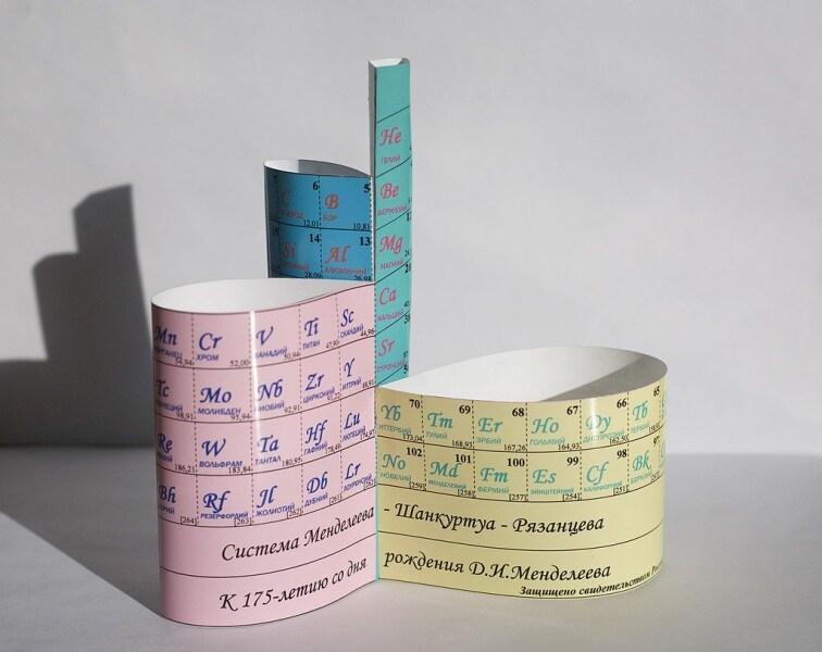 Le tavole periodiche che non vi hanno fatto vedere a scuola - Tavola periodica di mendeleev ...