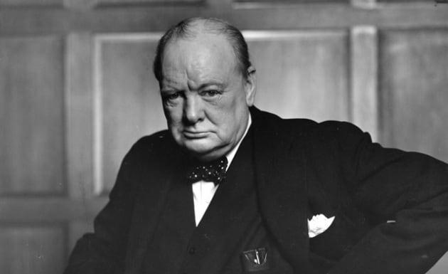 Churchill tatuato? Sì, e non era il solo! Winston Churchill