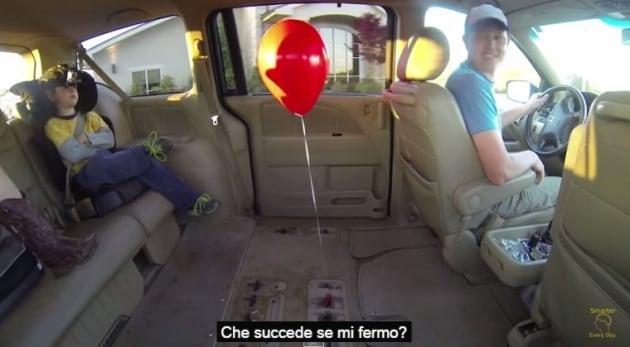 Fatelo a casa, anzi in macchina: un esperimento con l'elio