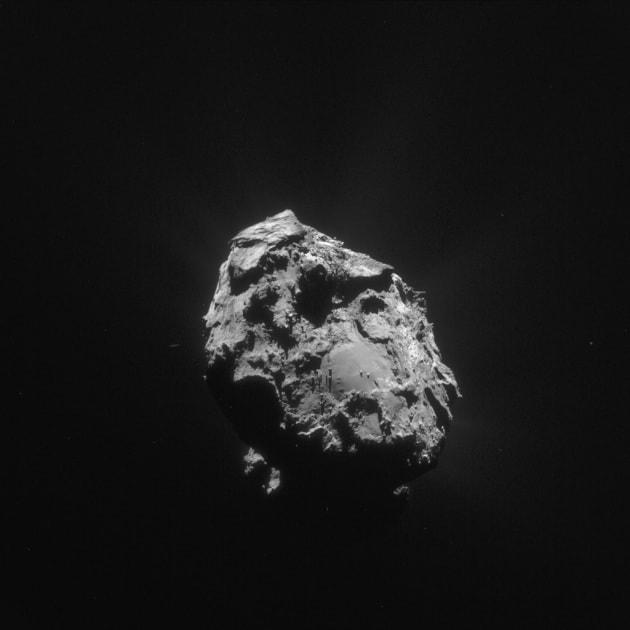 Rosetta: immagini recenti dalla cometa
