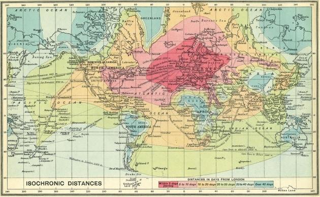 Le carte geografiche che non vi hanno fatto vedere a scuola