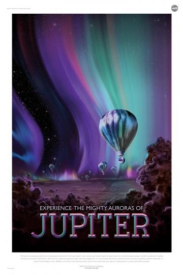 Turismo spaziale, arrivano i poster vintage della NASA