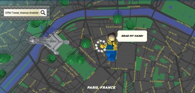 Brick Street View: un mondo di mattoncini