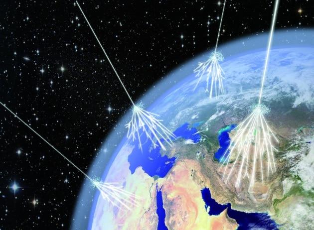 La Terra è bombardata da radiazioni cosmiche sempre più intense