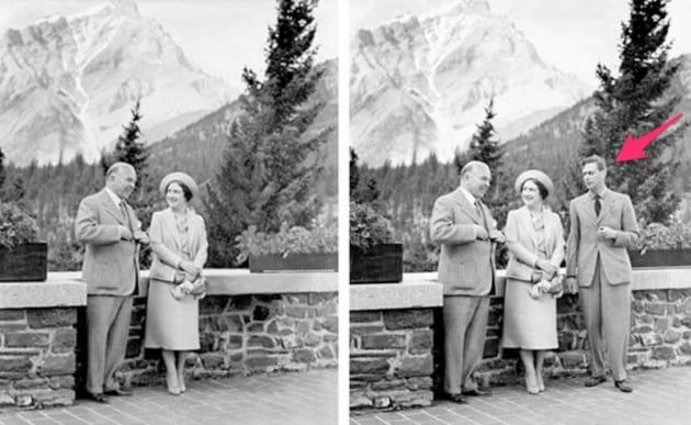Le foto storiche ritoccate (e smascherate)