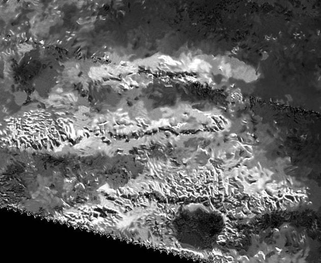 La tettonica delle zolle di ghiaccio di Titano