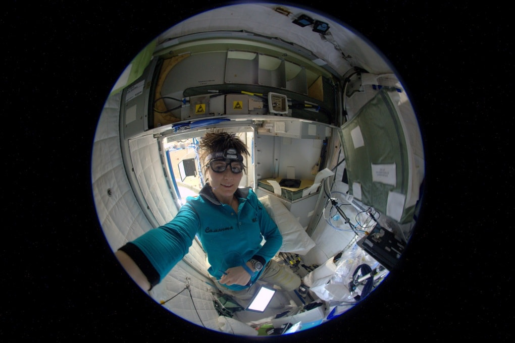 La ISS è pulita, ma i batteri si trovano bene