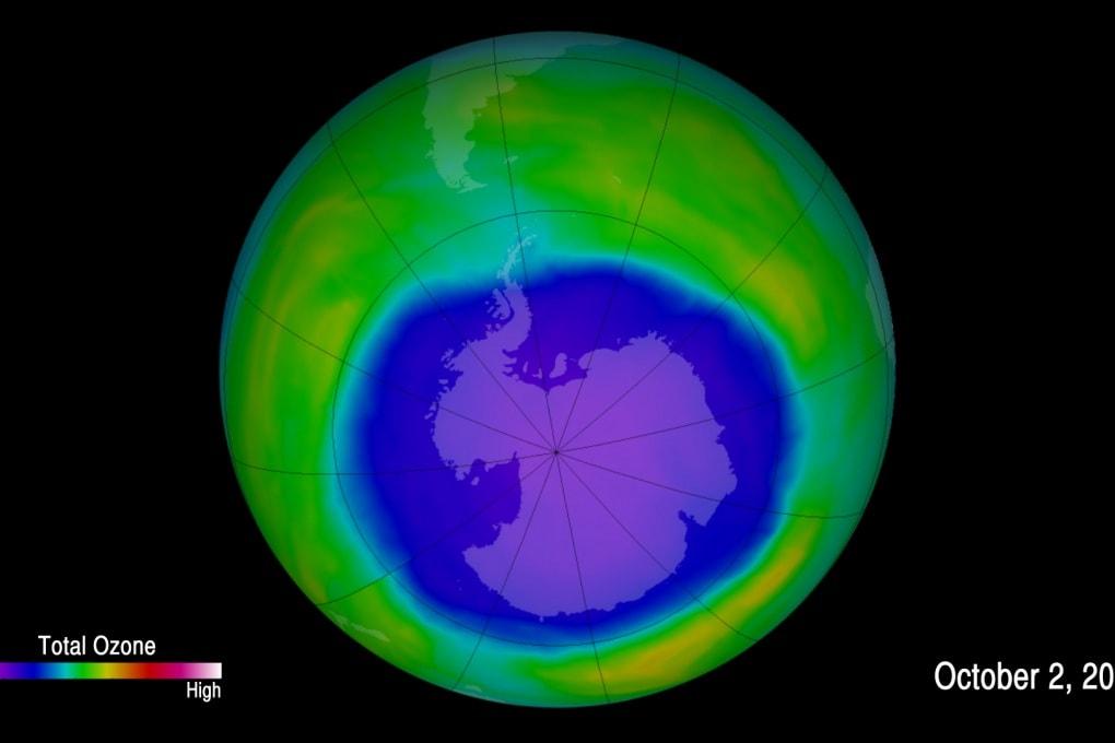 Il buco nell'ozono inizia a rimarginarsi