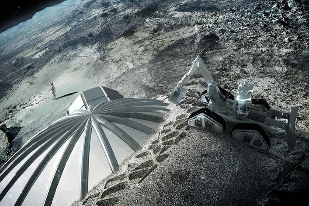 Così stamperemo una base sulla Luna