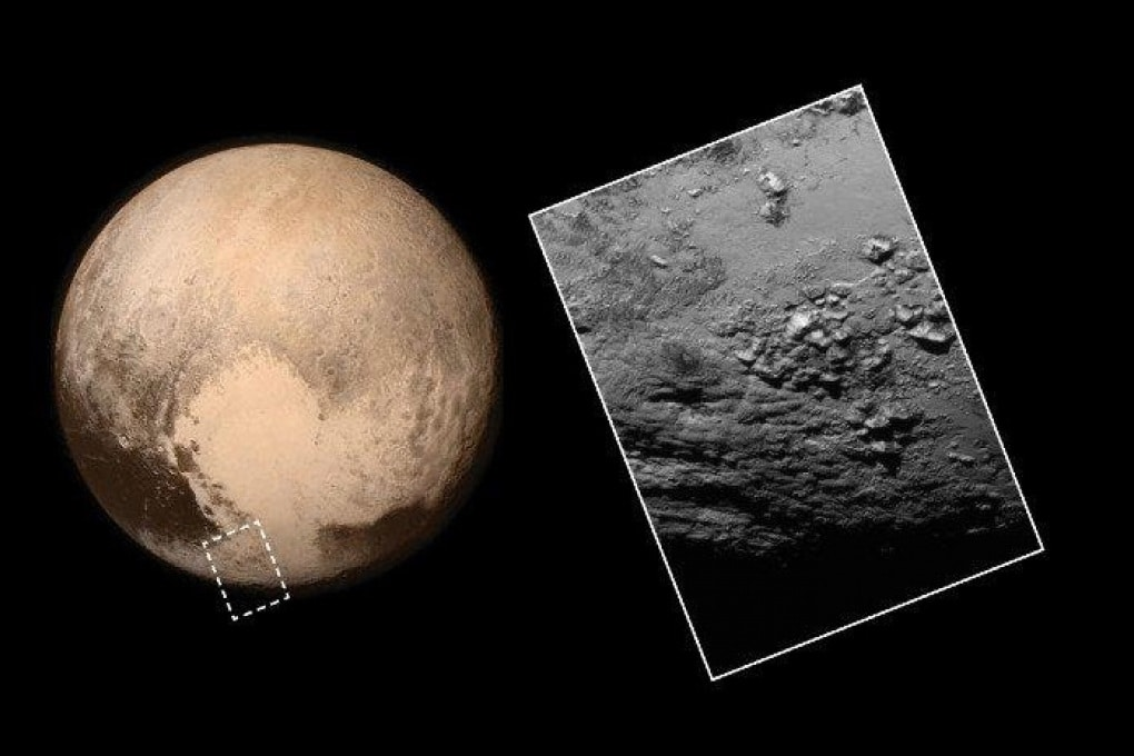 Su Plutone montagne di ghiaccio alte 3500 metri
