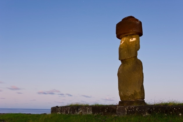 La civiltà dell'Isola di Pasqua non fu annientata dalla guerra