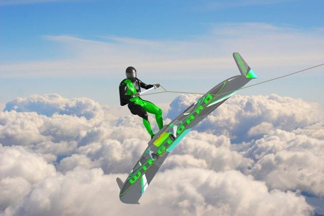 Wingboarding: surfare tra le nuvole
