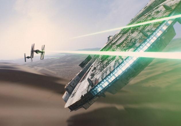 Com'è fatto il Millennium Falcon