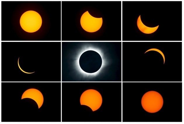 Eclissi totale di Sole, le foto più belle