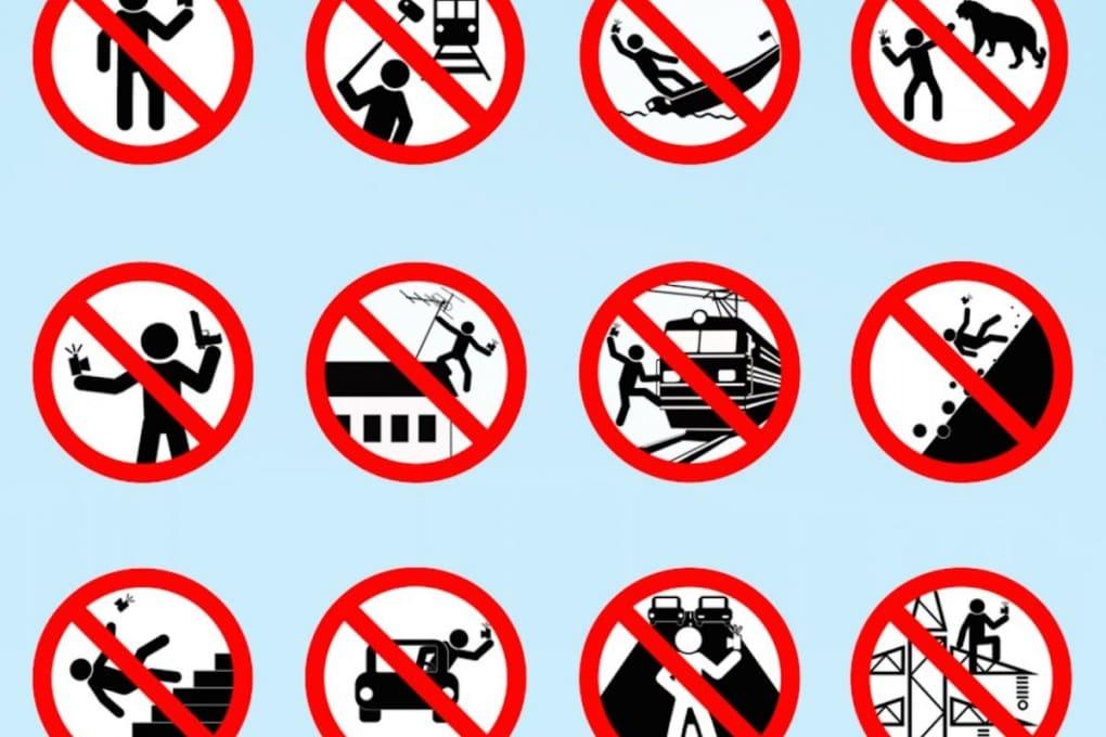 La guida russa al selfie sicuro