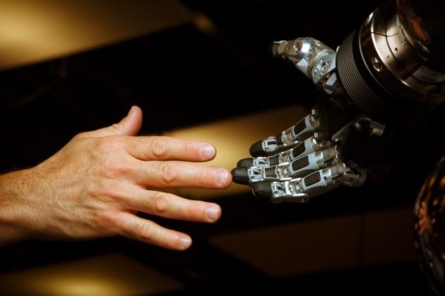 La pelle sensibile del robot