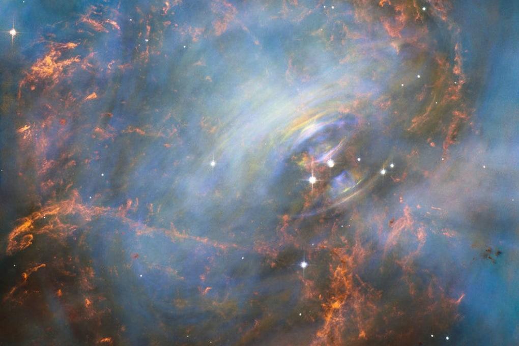 Il cuore pulsante della Nebulosa del Granchio