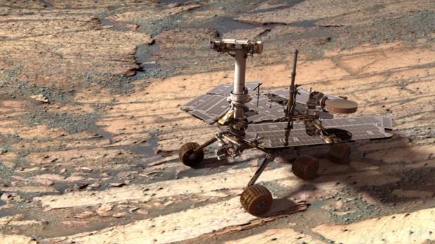 La maratona del rover Opportunity su Marte in 8 minuti