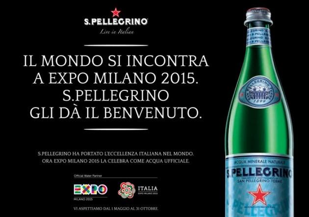 Expo invita il mondo a Milano e S.Pellegrino lo accoglie con gusto