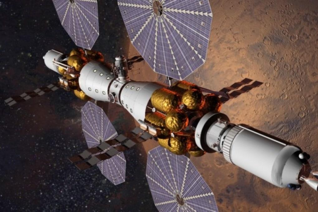 Nel 2028 l'uomo attorno a Marte