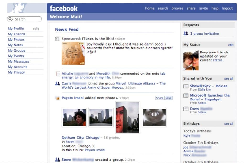 Facebook festeggia i 10 anni del News Feed