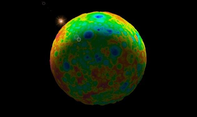 Cerere: l'enigma dei crateri mancanti