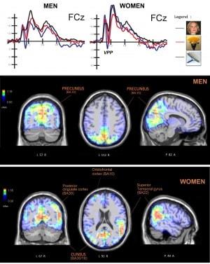 pareidolia: il cervello di uomini e donne risponde in modo diverso agli stessi stimoli visivi