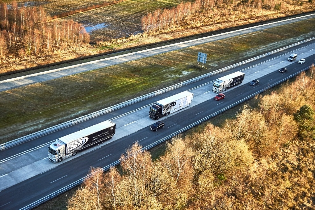 Camion semiautonomi alla conquista d'Europa