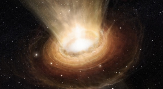I mini buchi neri sono (tutti) scomparsi emettendo energia pari a quella di una bomba H?| NASA