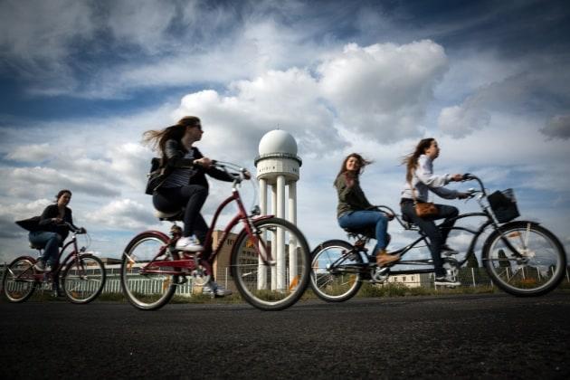 Quanto si può pedalare prima che l'inquinamento vanifichi i vantaggi dell'esercizio fisico?