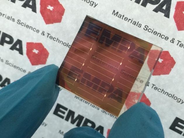 Nuove celle fotovoltaiche a doppio strato
